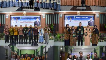 SMK NEGERI 1 PANJI, Sambut Kunjungan Kepala Dinas Provinsi Jawa Timur dengan Hangat