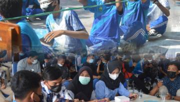 SMK Negeri 1 Panji Mengadakan Classmeeting Estafet dan Tournament