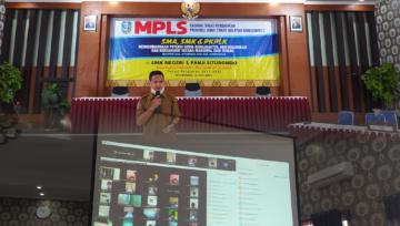 MPLS SMKN 1 Panji Diadakan Secara Virtual dan Live Webinar Oleh Dinas Pendidikan Provinsi Jawa Timur