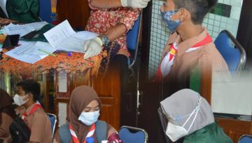SMKN 1 Panji Situbondo melaksanakan vaksinasi gelombang kedua untuk siswa-siswi